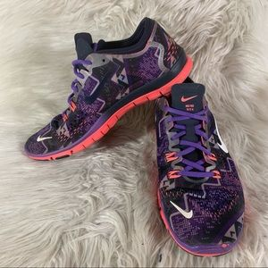 Nike Free TR Fit 4 Women's Size 7.5 Running Shoes